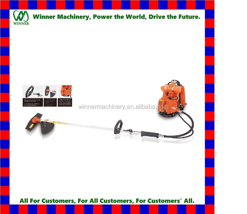 CG431 Gasoline brush cutter/grass trimmer/weeding machine for garden use