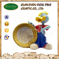 Custom Design Resin Donald Duck Statues