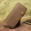 Good quality retro style leather card holder wallet/leather mens wallet/mens wallet genuine leather