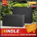 Kindle 2013 New polychrome galvanized decorative metal window box planters