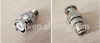 high quality 75ohm male to female panel mount straight bnc connector crimp connector