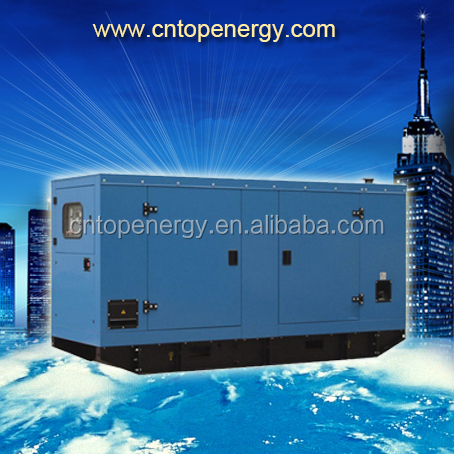 Rated 100kva weichai r6105azld power genset with soundproof canopy