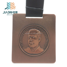 High quality custom made 3d heavy metal Karate championship award medal