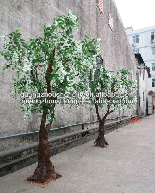Artificiali rosa glicine albero viola glicine pianta for Glicine bonsai prezzo