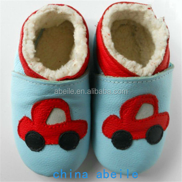 car pattern best cute fashion cheap infant cartoon winter indoor felt wholesale newborn baby toddler shoes