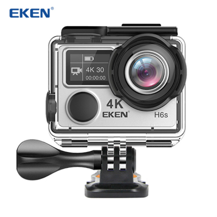Presale EKEN H6S Ultra HD 4K 30fps EIS Action camera Ambarella A12S75 14MP Image 170 Degree EKEN H6S 4k Sports camera