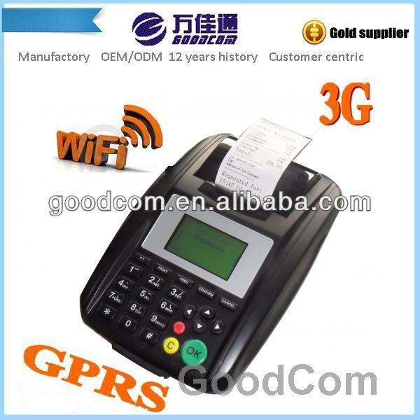 Goodcom POS Machine Print thermal 3g order system for restaurant