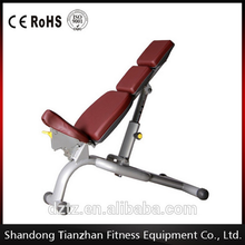 Environmental filler pad Multi Adjustable exercise bench&gym machine TZ-6024