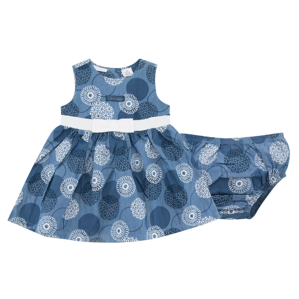 S33015W Baby Clothing Sets Summer Flower Newborn Baby Girl Bowknot dress + shorts clothing sets