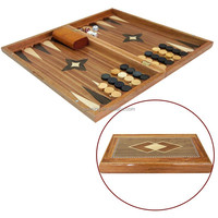 Rosewood Material Turkish Backgammon Set