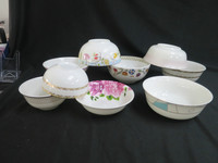 Large ceramic bowls, Japanese rice bowl, China cereal bowls