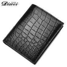 Pravite Label Customized Crocodile leather card holder wallets