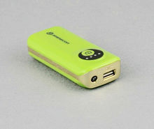 2012 portable 4500mAh high capacity power bank/universal power bank/the cheapest power bank with LED light for cellphone