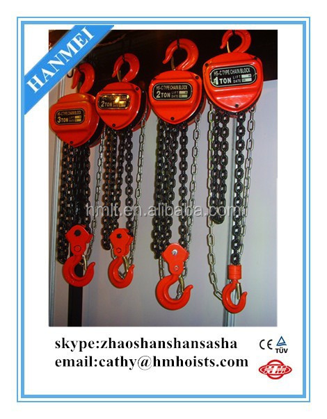 top material block and tackle from china