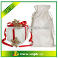 Promotional Cotton Linen Drawstring Gift Bag