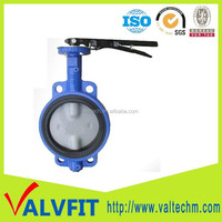 Hot Sale Ductile iron butterfly valve