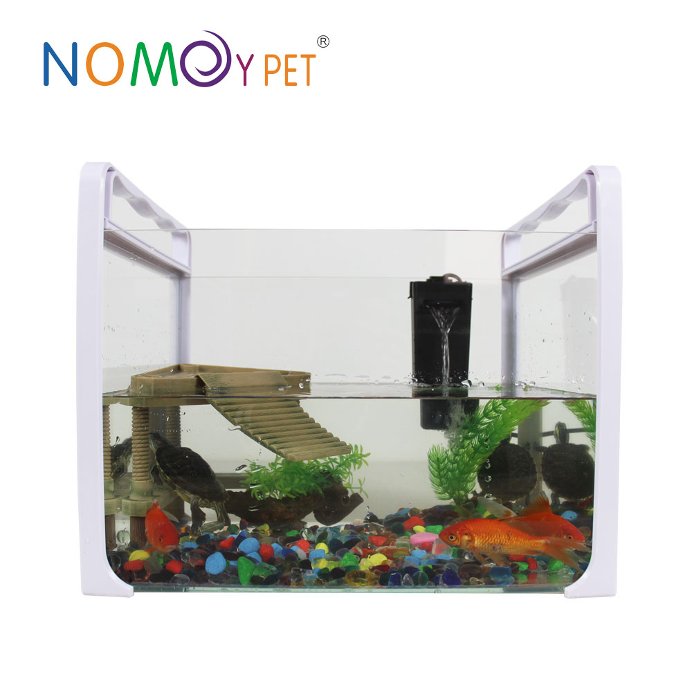 Nomo new design glass Pet home, aluminum reptile pet cage