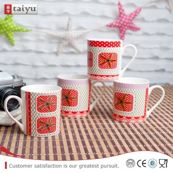 reliable various sizewhite porcelain coffee cup with different shape