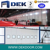 New design industrial hanging folding door