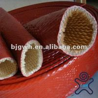 high temperature heat resistant fiberglass silicone rubber tubing