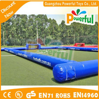 Portable soccer arena /soap football field/inflatable football arena for sale
