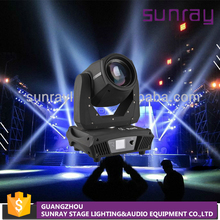 Rotation 16 Facet Prism Disco Night Club Stage Equipment 230W Sharpy 7R Beam Moving Head Light