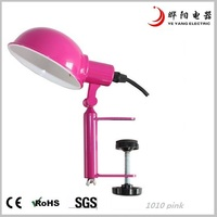 2013 Fashion metal clip table lamp for decoration,computer lamp,model 1010