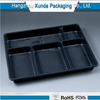 Hot Sale Plastic Food 6 Compartment Meal Tray