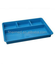 Autoclavable Medical plastic Compartment tray