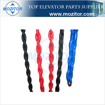 high quality elevator guiding device |compensating chain device|compensation chain guide roller device