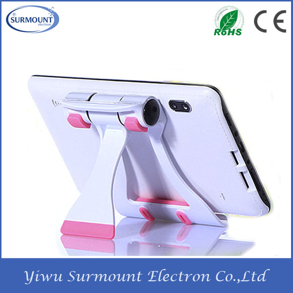 folding mobile phone holder lazy phone holder for tablet and cell phone