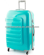 women luggage of plastic luggage bags swivel wheels luggage