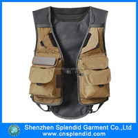 China wholesale mens cheap promotional fishing outdoor vest