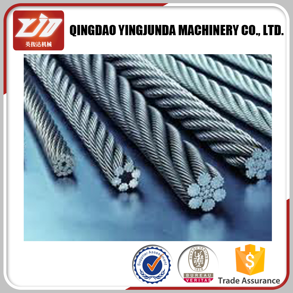 Trade Insurance Rigging Hardware Steel Wire Rope 6*37 Wholesale