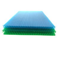 multi wall transparent colored plastic sheets plastic roof panels for mushroom