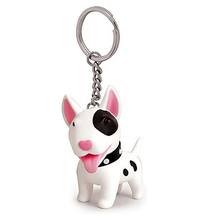 Cute Dog Key Chain, Bull Terrier