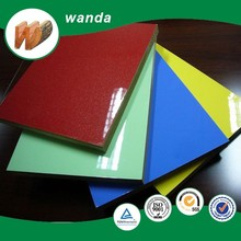 high gloss 18mm UV coated MDF from manufacturer
