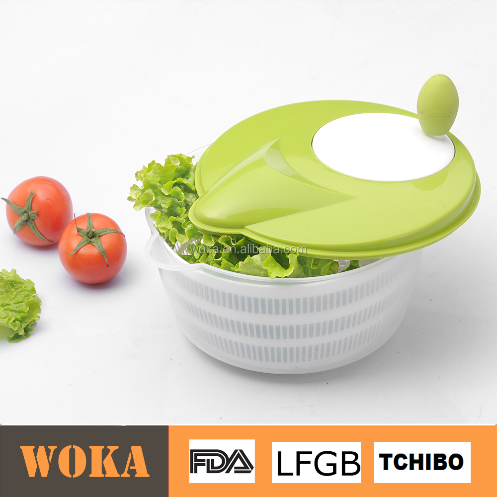 kitchen multifunctional manual salad mixer/vegetable spin drier