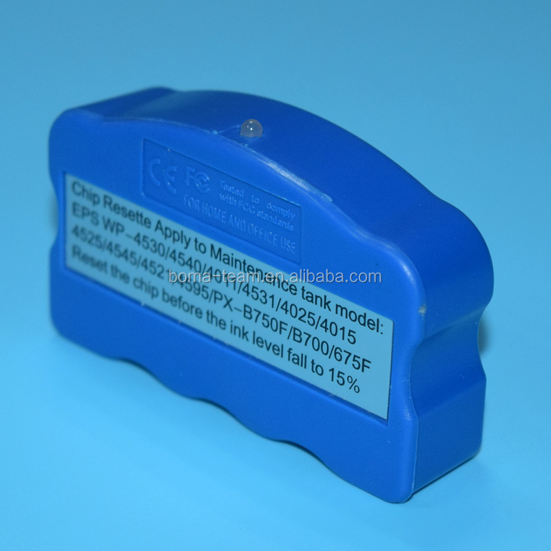 Compatible chip resetter for Epson T6710 C13T671000 waste ink tank