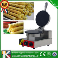 Wholesale price adjustable temperature control manual egg roll machine/maker
