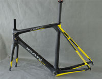 700C aero road frame carbon bicycle 50/52/54/56/58cm UD-matt race bike frameset AERO007