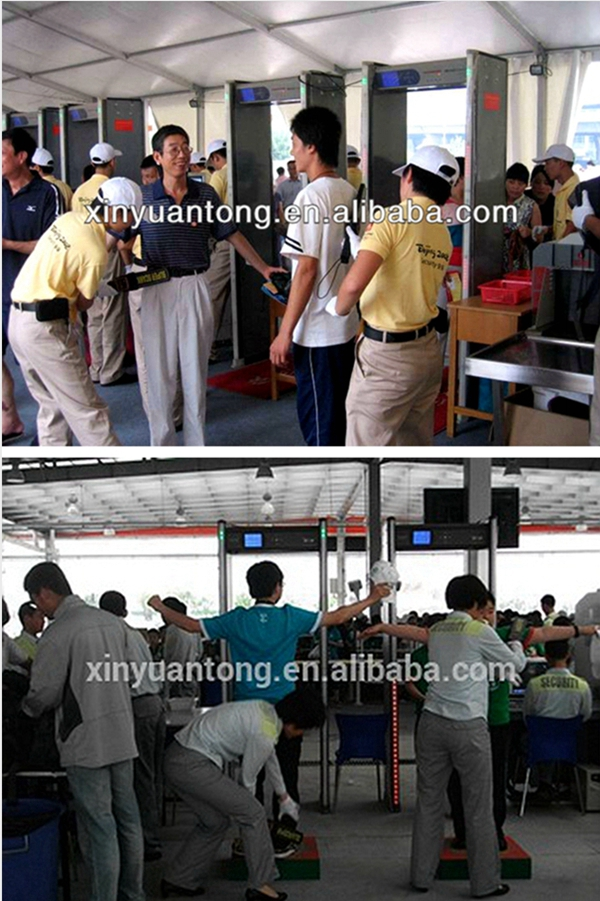 MD200 Manufacture wholesale High Precision Super Scanner Metal Detectors, Hand Held Metal Detectors