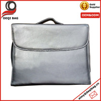 Silver Makeup Cosmetic with Organizer Bags, Brushes Bag and Mirror