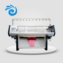 Industrial computerized 14G 52inch flat knitting machine for home use