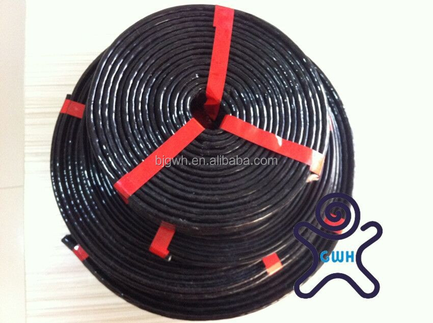 Black protective hose fire sleeves