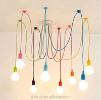 Dcloud LED Mini Pendant Modern Lighting Chandelier Pendant Lamp for Living Room