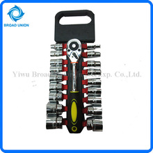Top Quality 19PC Bright Finish Socket Wrench Adjustable Ring Wrench Type of Spanner