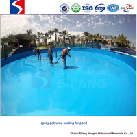 roof waterproofing membrane spray polyurea coating roofing materials