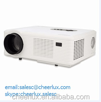 cheerlux cl720 portable shenzhen shi projector small size for home&office low noise&long life