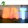Giant inflatable letters / advertising customized inflatable letters / Advertising PVC Inflatable Letter with Lighting